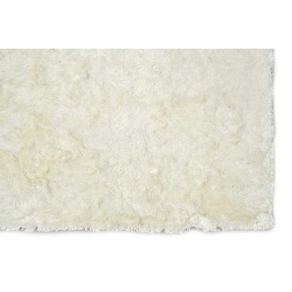 Ručně tuftovaný bílý koberec Bakero Feeling Snow, 130x190cm