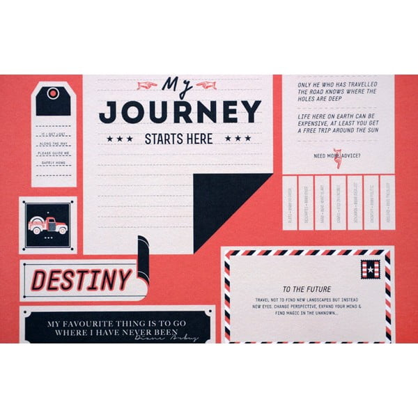 Plakát The Destination, limitovaná edice