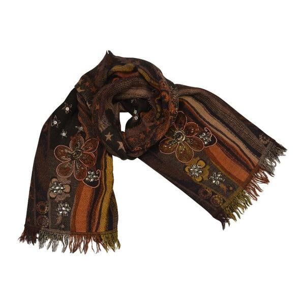 Vlněný šátek Shirin Sehan - Stella Autumn
