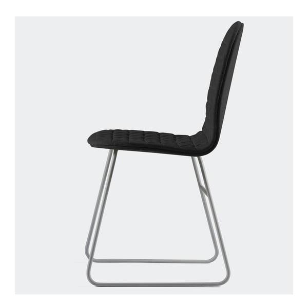 Židle Mannequin Triangle, černá