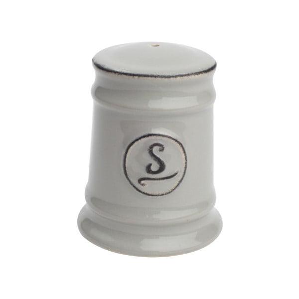 Šedá keramická solnička T&G Woodware Pride of Place