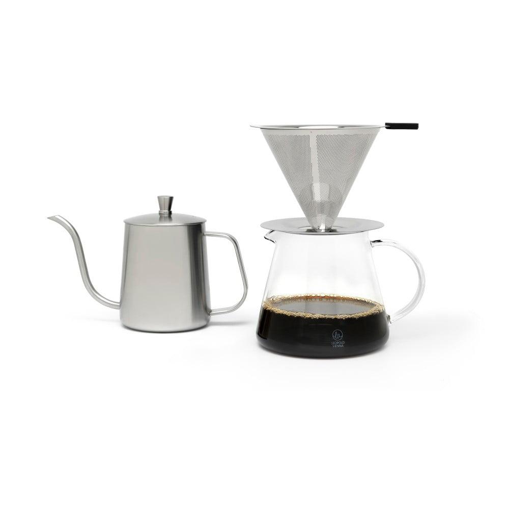 Dárková sada na přípravu překapávané kávy Leopold Vienna