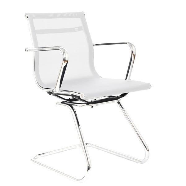 Pracovní židle Leila, bílá