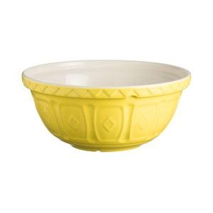 Žlutá kameninová mísa Mason Cash Mixing, ⌀ 26 cm