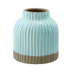 Vază din gresie ceramică Ladelle Nori, albastru