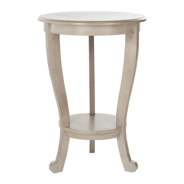 Stolik Pedestal Vintage Gray