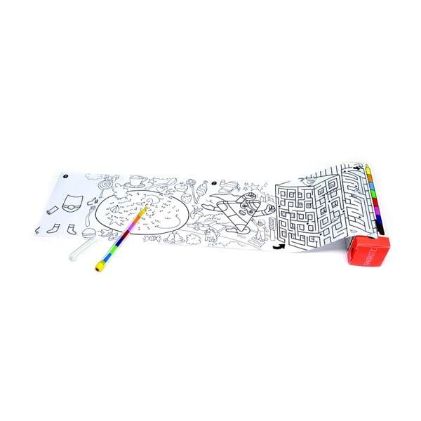 Kapesní omalovánka OMY Pocket Fantastic (30 x 42 cm)