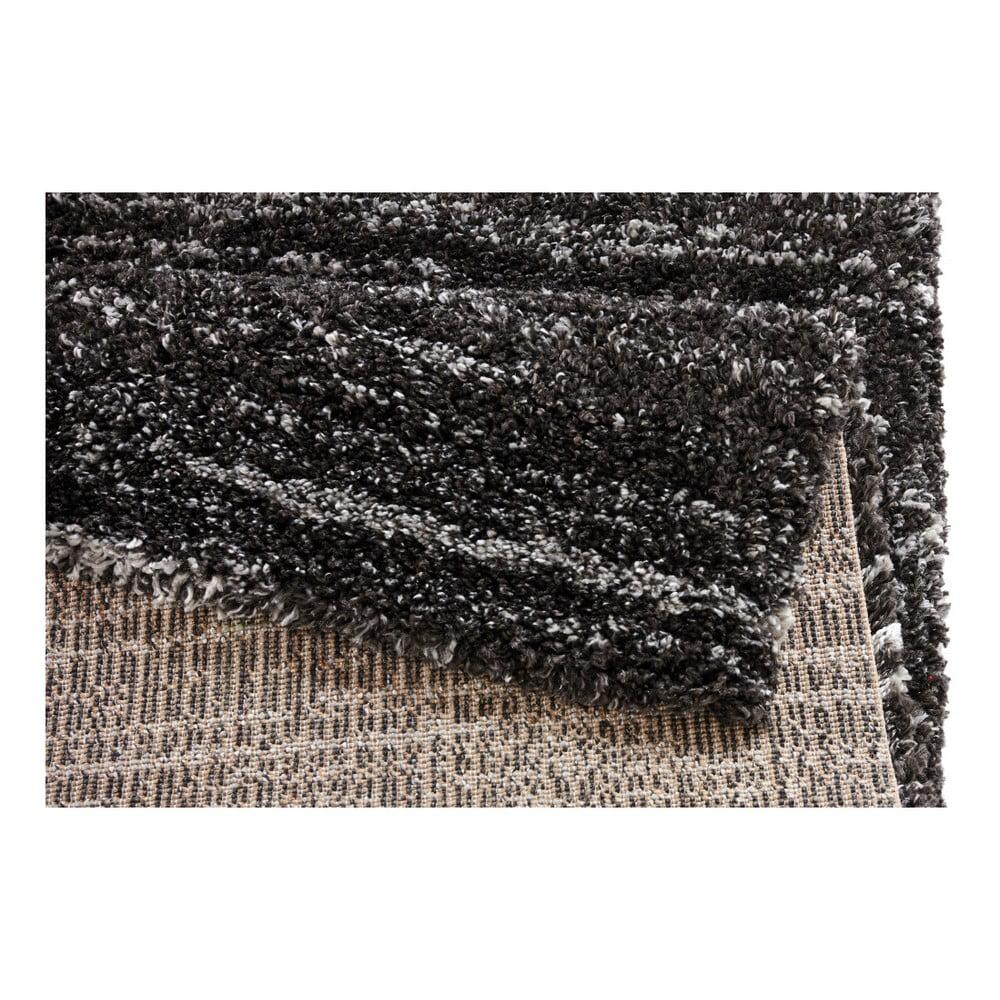 Produktové foto Tmavě šedý koberec Mint Rugs Nomadic, 200 x 290 cm vlas