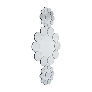 Nástěnné zrcadlo Kare Design Ice Flowers, délka194,2cm