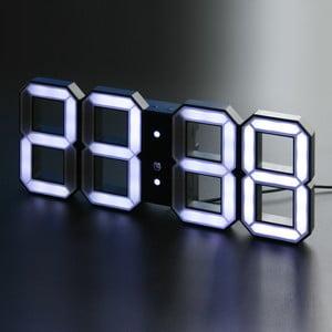 Černé LED hodiny od Vadima Kibardina, kabel 2 metry