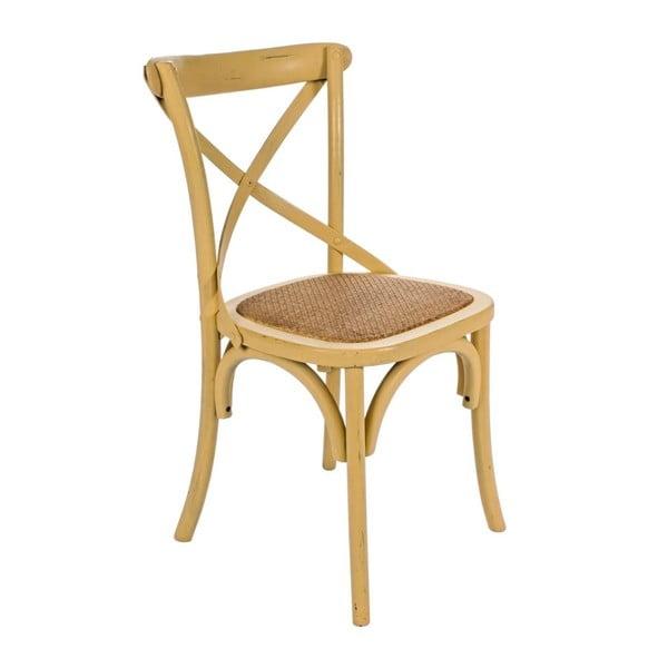 Židle Cross medová