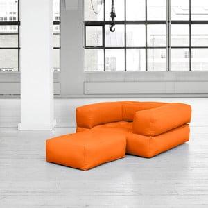 Variabilní křeslo Karup Cube Orange