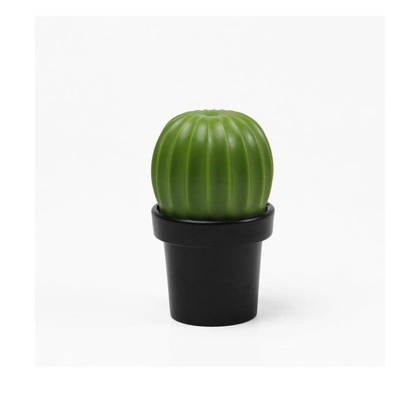 Râșniță sare/piper Qualy&CO Tasty Cactus, negru-verde
