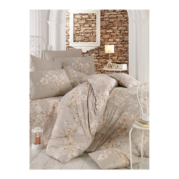 Lenjerie de pat cu cearșaf Mika, 200 x 220 cm
