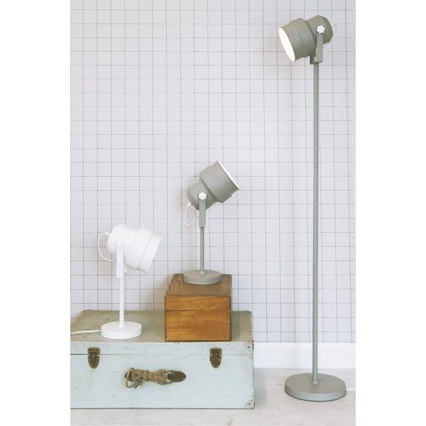 Šedá stolní lampa  Leitmotiv  Studio