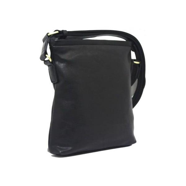 Taška přes rameno Bobby Black - černá, 26x28 cm
