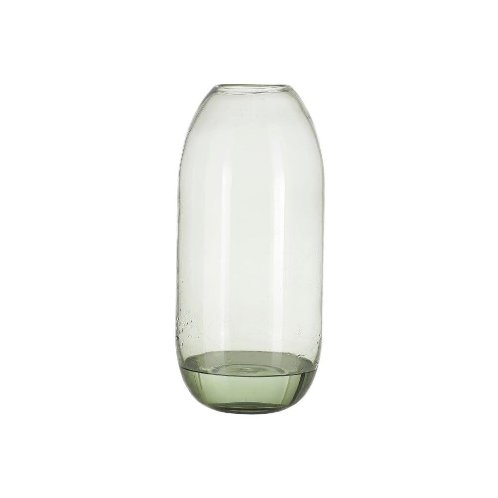 Zelená skleněná váza A Simple Mess Hedge, výška38cm A simple Mess