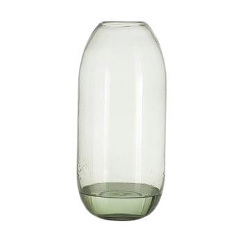Vază din sticlă A Simple Mess Hedge, înălțime 38 cm, verde de la A Simple Mess