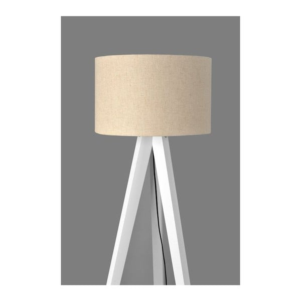 Stojací lampa Tripod White/White
