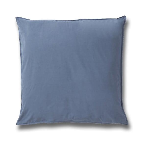 Față de pernă din bumbac Casa Di Bassi Softtouch, 80 x 80 cm, albastru