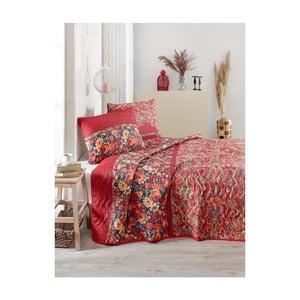 Přehoz přes postel na dvoulůžko s povlaky na polštáře Despina,200x220cm
