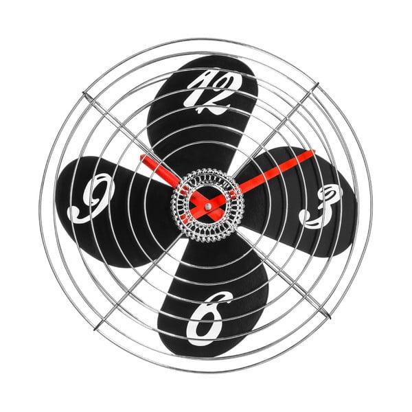Nástěnné hodiny Retro Fan, 38 cm