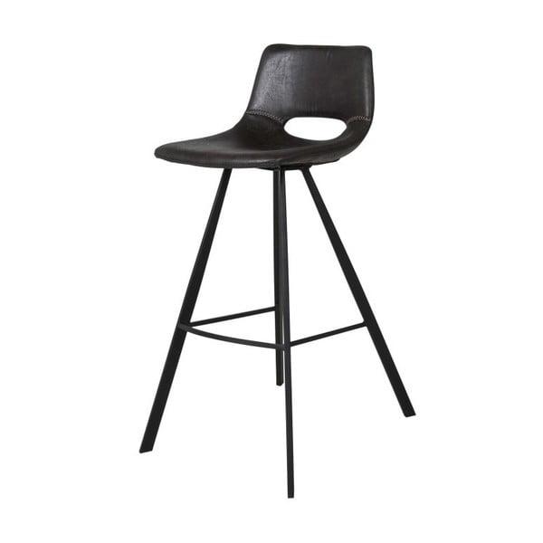 Černá barová židle Canett Coronas, výška98cm