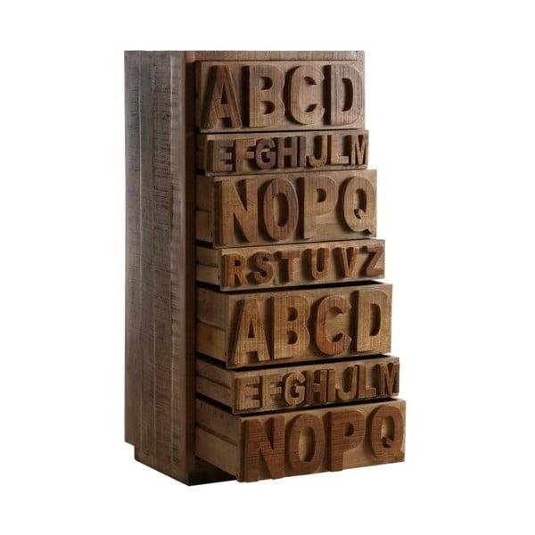 Komoda se 7 zásuvkami z mangového dřeva Støraa Abbott