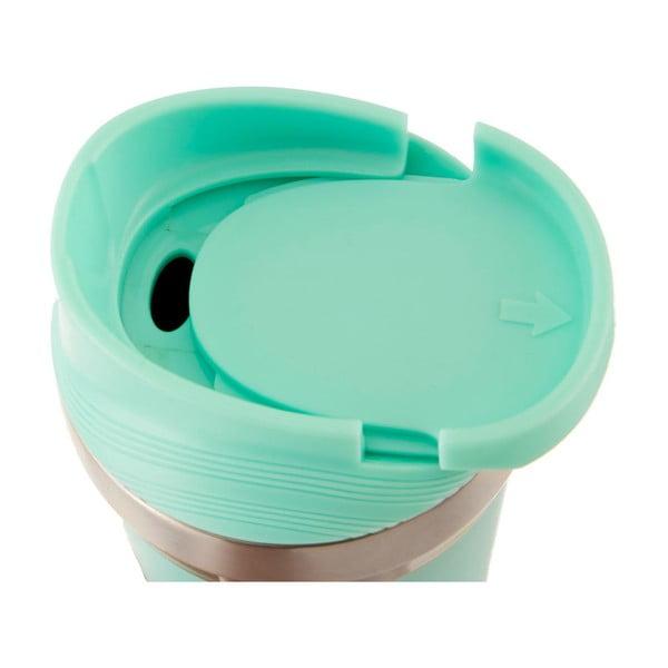 Pahar termos de voiaj Premier Housewares Travel, 380 ml, verde mentă