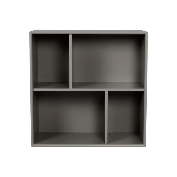 Etajeră Tenzo Z Cube, 70 x 70 cm, gri închis