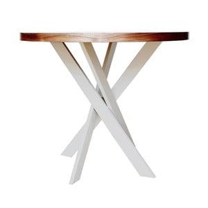 Jídelní stůl s masivní podnoží Nux nábytek Twist