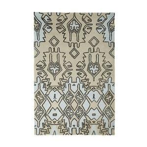 Béžovo-modrý ručně tkaný koberec Think Rugs Spectrum Beige Blue, 120x170cm