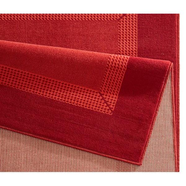 Koberec Basic, 120x170 cm, červený