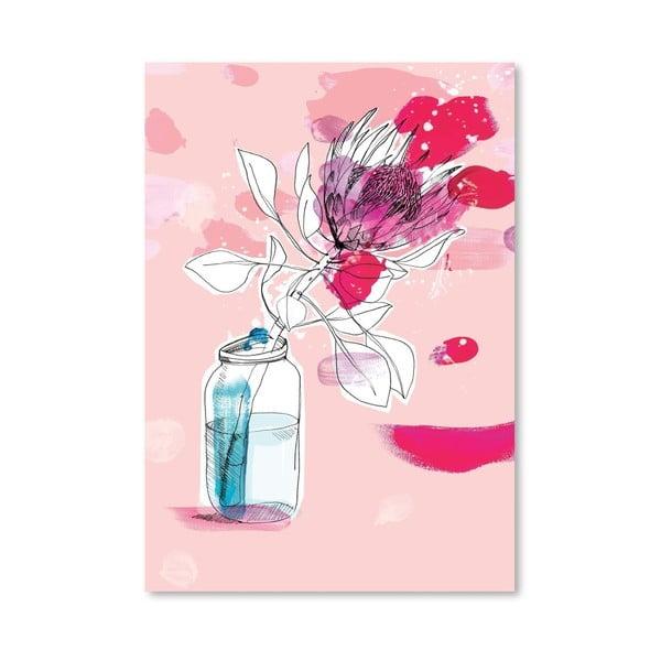 Plakát Vast Flower, 30x42 cm