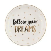 Farfurie din ceramică Sass & Belle Follow Your Dreams