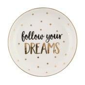 Farfurie din ceramică Sass & Belle Follow Your Dreams