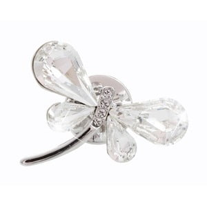 Broșă Swarovski Elements Laura Bruni Dragonfly Denna Puro