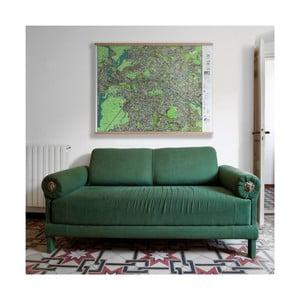 Mapa Berlína v průhledném pouzdru The Future Mapping Company Berlin, 130 x 100 cm