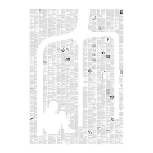 Knižní plakát Podivný případ se psem, 70x100 cm