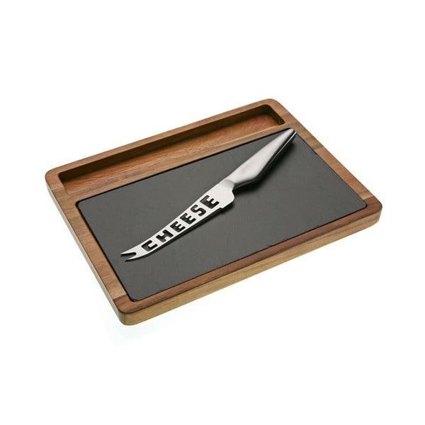 Prkénko s nožem na sýr Cheese