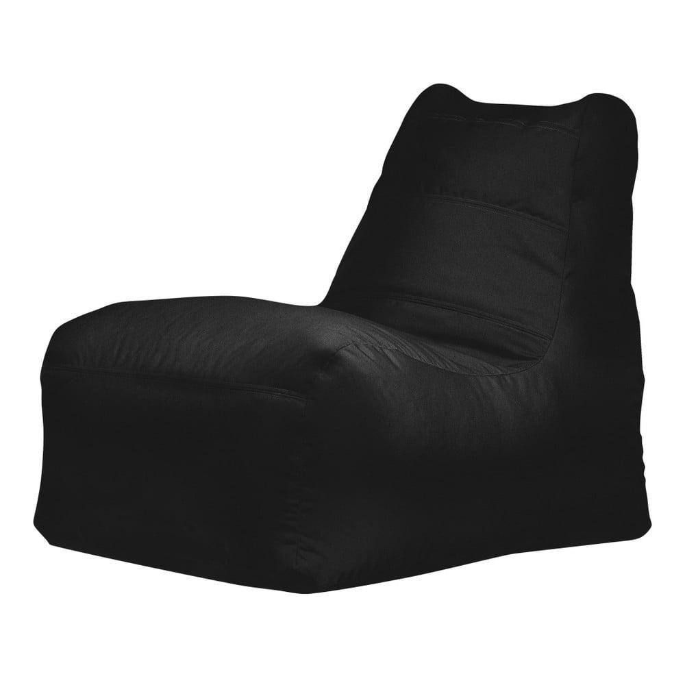 Černý sedací vak Sit and Chill Jolo