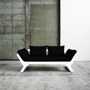Canapea extensibilă Karup Bebop  White/Black