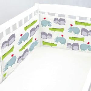 Výstelka do postýlky Hippo, 60x60x60 cm