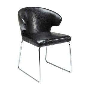 Černá jídelní židle Kare Design Atomic