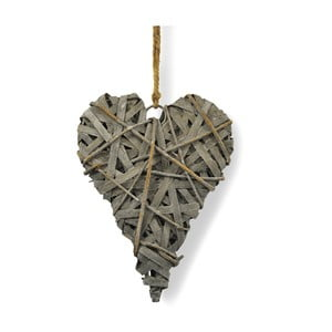 Závěsná dřevěná dekorace Interiörhuset Chippy Heart