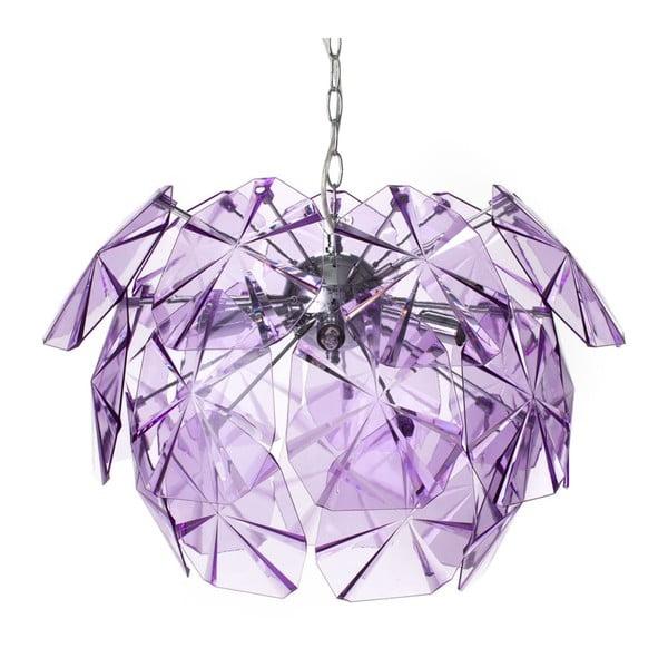 Fioletowa lampa sufitowa Tomasucci Domus