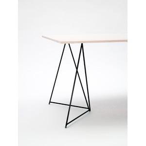 Podnož ke stolu Diamond Black, 70x55 cm