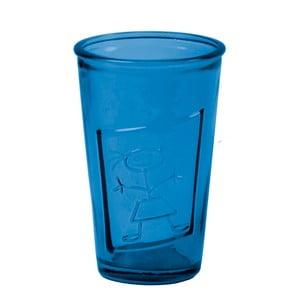 Tmavě modrá sklenice Ego Dekor Afodita, 300 ml