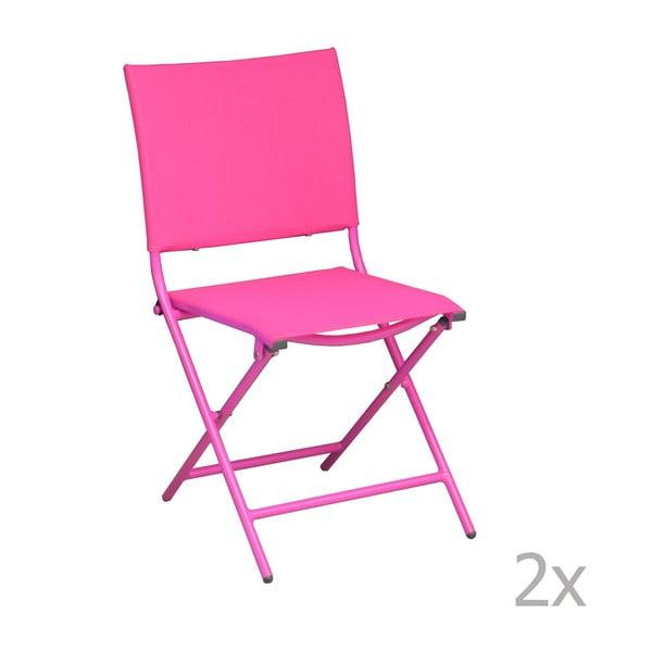 Sada 2 zahradních židlí Pieghevoli Framboise
