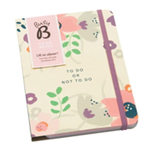 Úkolníček Busy B To Do Pretty/Floral
